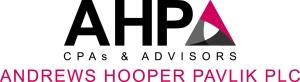 AHP CPAs & ADVISORS Firm Name Logo