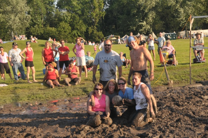 Getting Messy at the Mud Volleyball Tournament